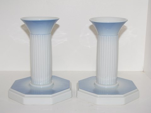 Bing & Grondahl Blue Tone Large candle light holder