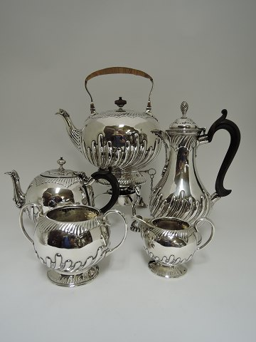 English Tea & Coffee Service Sterling (925) 5 parts