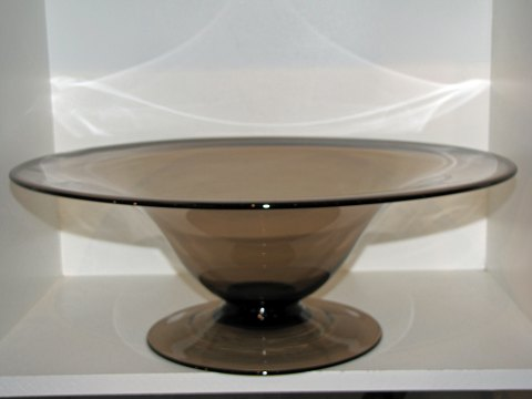 Holmegaard ENORMOUS bowl on stand by Jacob Bang 1936