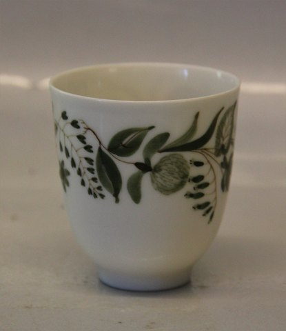 Royal Copenhagen 4149 RC Artist Signed Cup 6.5 cm, decorated and signed by Ursula Printz Mogensen