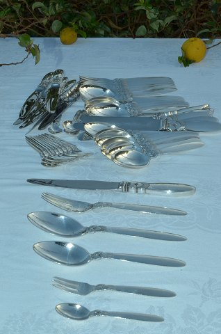 Georg Jensen Flatware Cactus Dinner set for 12 persons