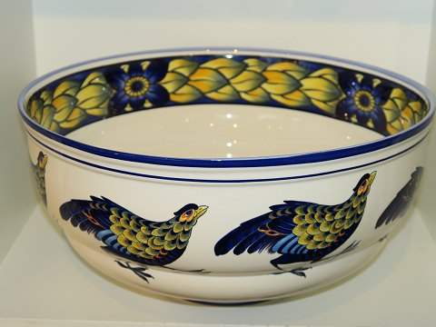Blue Pheasant Enormous bowl for champagne