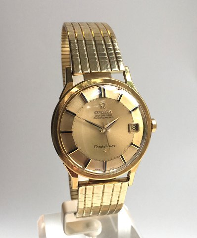 Omega Constellation Automatic Pie Pan 18 ct gold. Ref. 14902 62SC 1961-62