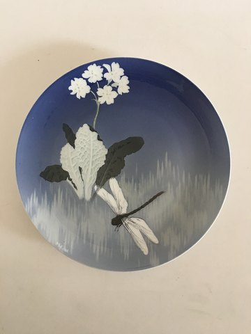 Royal Copenhagen Motif Platter with Unique Decoration No. 6865 by Marianne Höst from October 1898