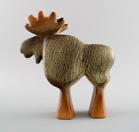 Lisa Larson Gustavsberg moose in ceramics.