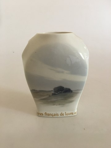 Bing & Grondahl Art Nouveau Commemorative Vase