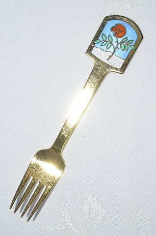 A. Michelsen. Christmas spoon 1977