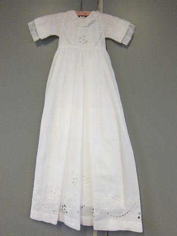Christening robe with an underskirt Very beautiful and old christening robe with an underskirt