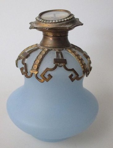 French perfume bottle, 19th century.