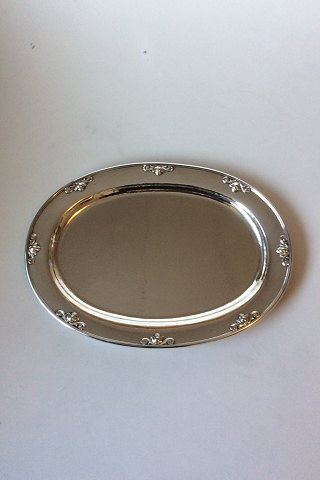Georg Jensen Sterling Silver Acorn Serving Tray No. 642 R