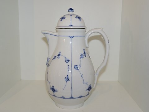 Blue Fluted Plain Rare coffee pot from 1869