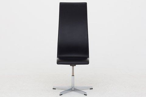 Arne Jacobsen / Fritz Hansen AJ 3162 - Oxford chair in black leather 6 pcs. in stock Good condition Location: Roxy Klassik Showroom - Jorisvej 11, 2300 KBH. S.