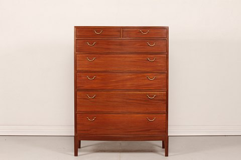 Ole Wanscher Chest of Drawers of mahogany A. J. Iversen