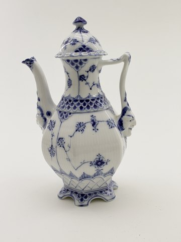 Royal Copenhagen blue fluted full lace coffee pot 1/1030