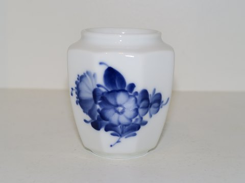 Blue Flower Angular Small vase #8615