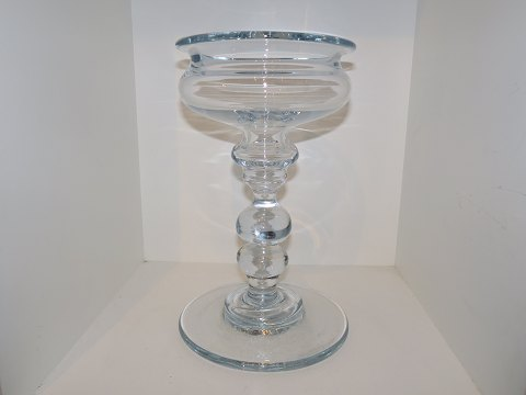 Holmegaard Tall Tivoli fruit bowl on stand
