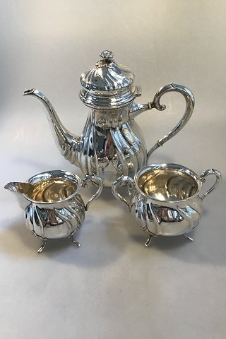 Christian Michelsen Danish Silver Coffee set(3)