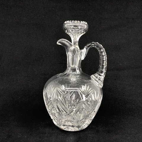 Whisky decanter in crystal