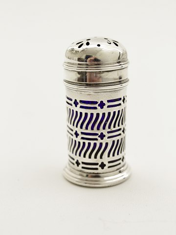 Sterling silver salt box