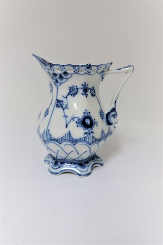 Blue Fluted. Full lace. Creamer. Model 1032. Height 10 cm. (1 quality)