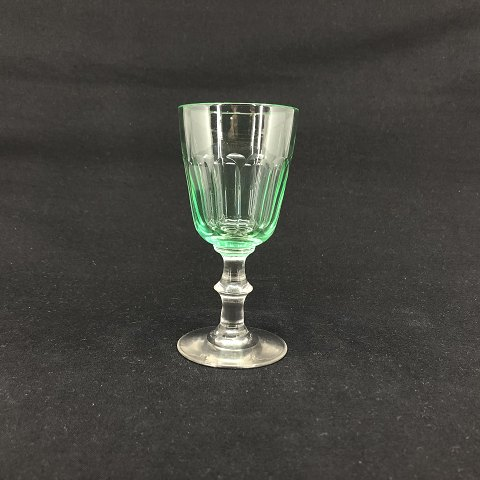 Green Christian the 8th white wine glass