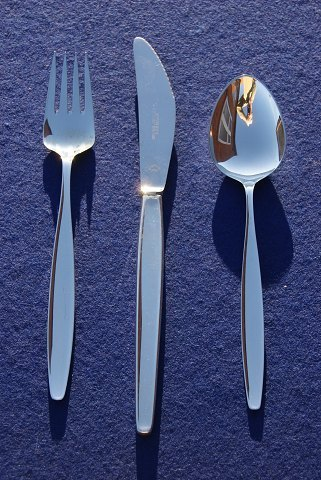 Cypress Georg Jensen Danish silver flatware, settings dinner cutlery of 3 pieces. OFFER for more