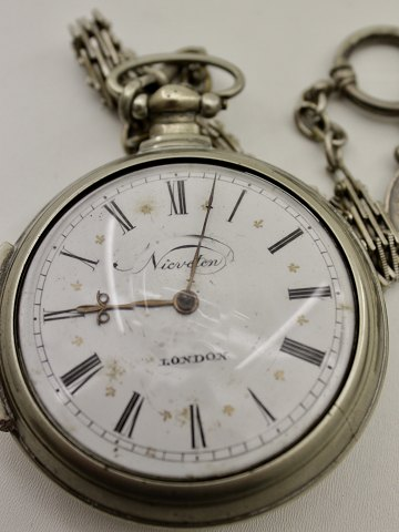 Spindle pocket watch Nieveton London
