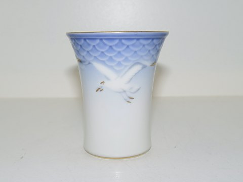 Seagull with gold edge Small vase