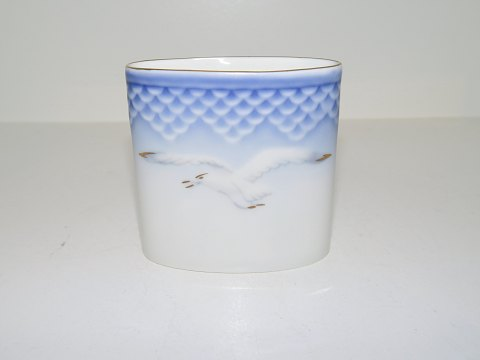 Seagull with gold edge Small beaker