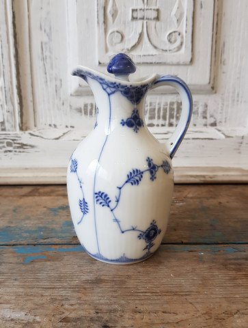 Royal Copenhagen Blue Fluted Full Lace Vinegar Jug no. 1180