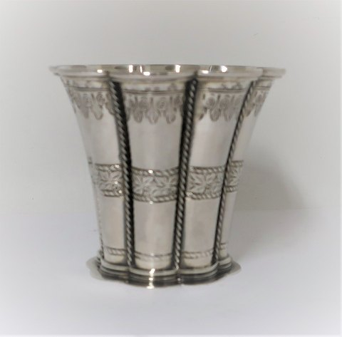 Margaret cup. Created by Edvard. Andersen. Sterling (925). Height 7 cm
