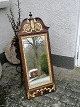 Mirror of oak with gildings 19.Year.